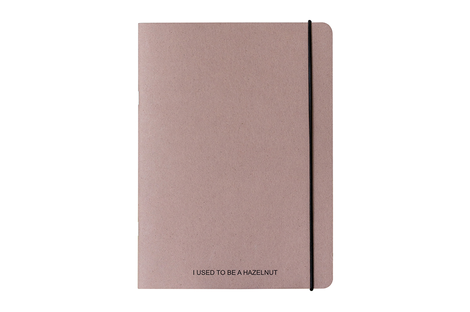 Agri notebook softcover 32 pages nuts- white