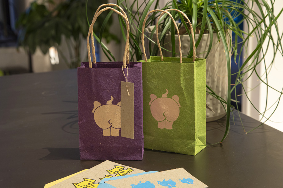 Elephant Paper bags small- mood