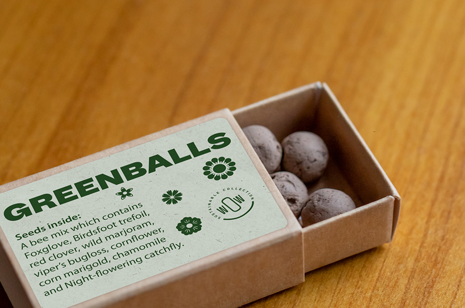 Greenballs packaging